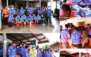 ทิพยประกันภัย ห่วงใยเป็นที่สุด ลงพื้นที่ช่วยเหลือช่วยพี่น้องผู้ประสบภัยจากพายุซินลากู จ.เลย
