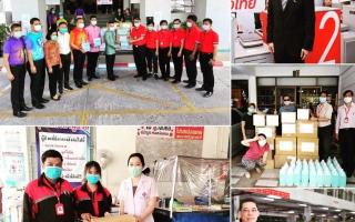 """""""ไปรษณีย์ไทย"""" อาสาหน่วยงานรัฐร่วมส่งต่อความห่วงใยถึงทีมแพทย์ เผยส่งหน้ากากอนามัยถึงมือหมอทุกชิ้น"""