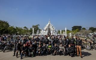 """รอยัล เอนฟิลด์ พาลูกค้าจากทั่วโลกร่วมขี่มอเตอร์ไซค์ในเส้นทางสุดท้าทาย  บนดินแดนภาคเหนือในทริป """"Tour of Thailand 2017"""""""